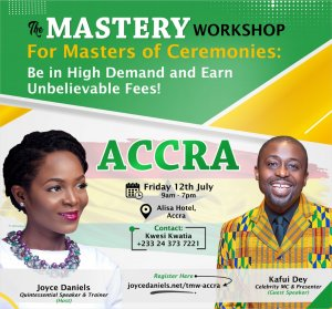 Joyce Daniels - Mastery Workshop Accra