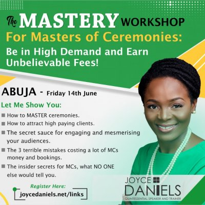 The Mastery Workshop Abuja