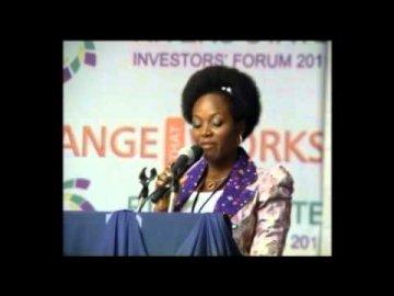Joyce Daniels @ Rivers State Investor's Forum!!!